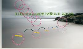 EL EJÉRCITO DE LA NUEVA ESPAÑA EN EL SIGLO XVIII