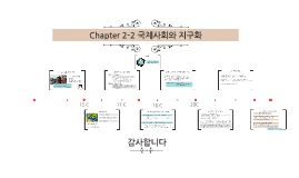 Chapter 2-2 국제사회와 지구화