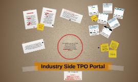 Industry Side TPO Portal