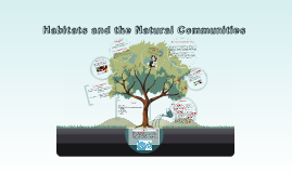 Habitats and the Natural Communities