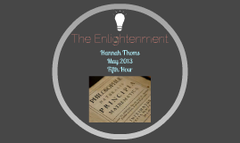 Copy of The Enlightenment