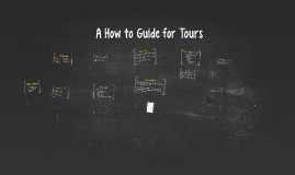 A How to Guide for Spring 2015 Tours
