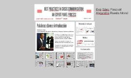 Análisis artículo Best Practicies in Crisis Communication