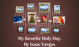 My favorite Holy Day.