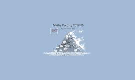 EMC Maths Faculty 2017-18
