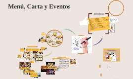 Menú ,carta y eventos