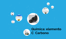 Química: elemento C Carbono