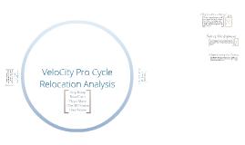 VeloCity Pro Cycle