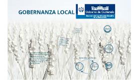 Gobernanza Local 1