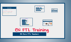 CN Core FTL Training