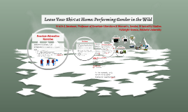Leave Your Skirt at Home: Performing Gender in the Wild