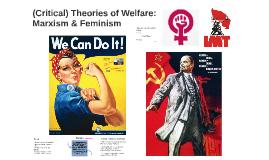 Social Theories of Welfare 1: