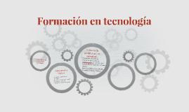 Formación en tecnología