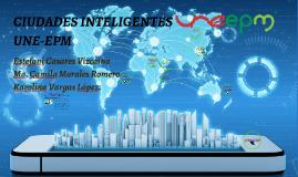 Ciudades inteligentes UNE EPM