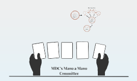 MDC's Mano a Mano Committee