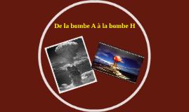 Histoire de la bombe nucléaire