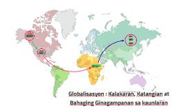 Copy of Copy of Globalisasyon : Kalakaran, Katangian at Bahaging Ginagampana