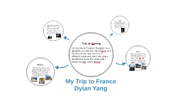 Trip to france