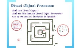 Copy of Copy of Spanish-- Direct Object Pronouns