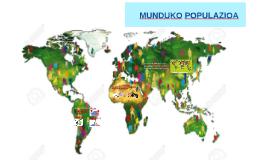 MUNDUKO POPULAZIOA