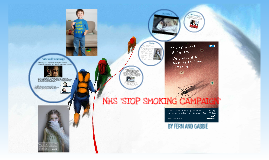 NHS 'STOP SMOKING CAMPAIGN'