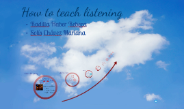 Copy of How to teach listening