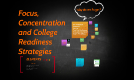 Focus, Concentration
