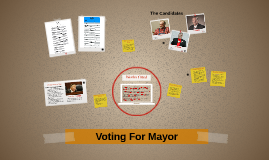 Voting For Mayor