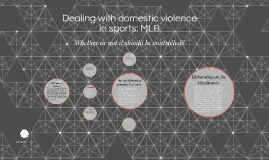 Dealing with violence in sports:MLB