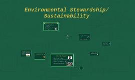 Environmental Stewardship/Sustainability