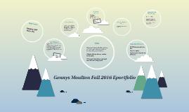 Gennys Moulton Fall 2016 Eportfolio