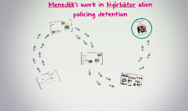 Menedék's work in Nyírbátor alien policing detention