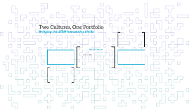 Two Cultures, One Portfolio: