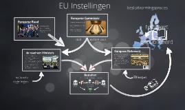 Instellingen van de Europese Unie