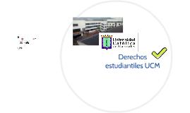 Derechos estudiantiles UCM