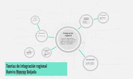 Teorías de integración regional