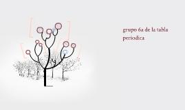 grupo 6a de la tabla periodica - Tabla Periodica Grupo 6 A