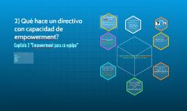 Qué hace un directivo con capacidad de empowerment?