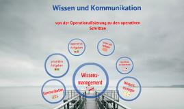 Wissensmanagement und Kommunikation