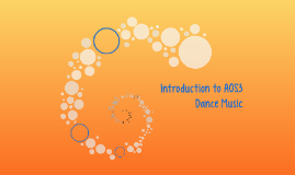 Introduction to AOS3 - Dance Music