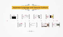 Japanese Writing and Samurai Culture