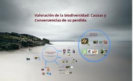 Valoracion de la biodiversidad