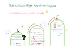 Cytostatica en hormonale therapie