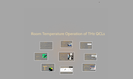 Room Temperature Operation at the Terahertz Frequency Range