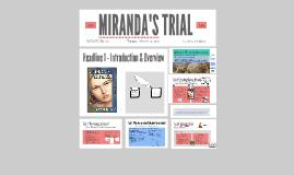MIRANDA'S TRIAL
