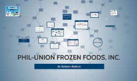 PHIL-UNION FROZEN FOODS, INC