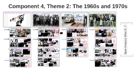 Component 4, Theme 2: The 1960s and 1970s
