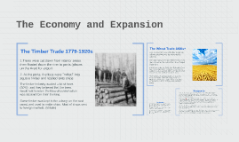 The Economy and Expansion