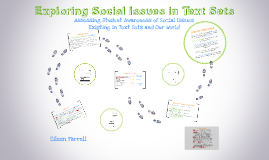 Exploring Social Issues in Text Sets