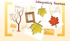 ENGL106 - Integrating Sources